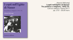 Nasser e oltre, i copti nella politica egiziana
