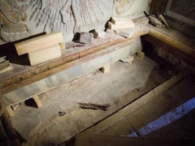 Il restauro della Tomba di Cristo