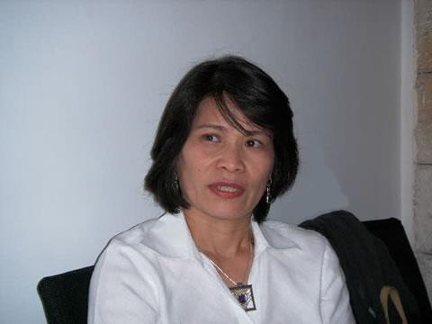 Maria Victoria Pöppönen de La Cruz.