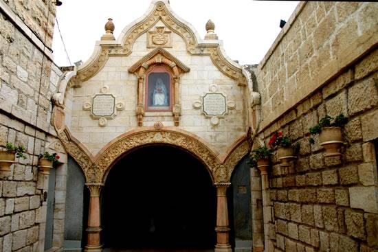 Betlemme. Il santuario della Grotta del Latte, a pochi passi dalla basilica della Natività.