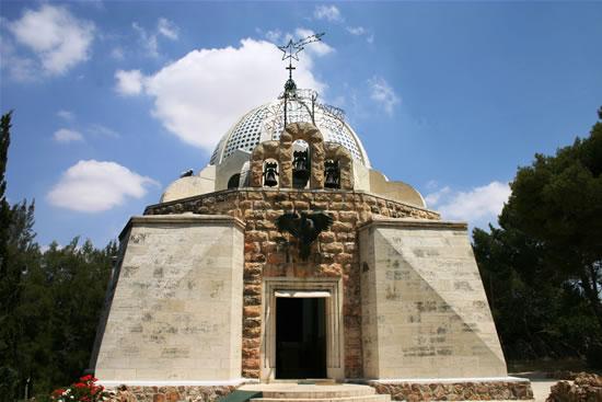 Beit Sahur. Il santuario del Campo dei pastori.
