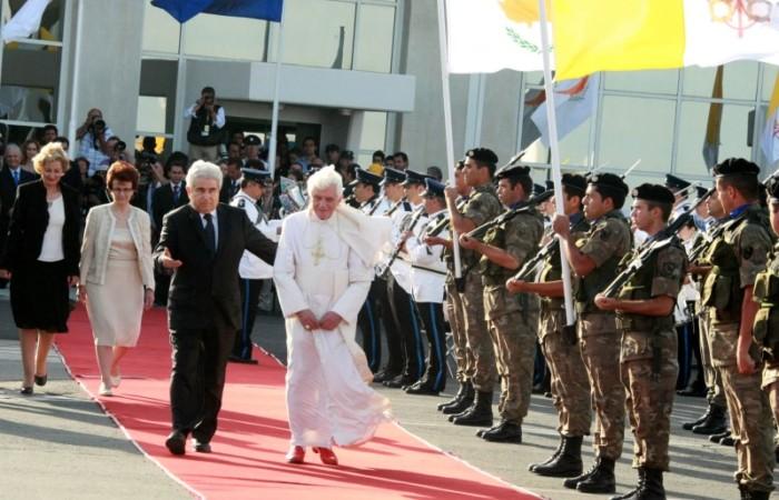 A Larnaca il congedo del Papa da Cipro