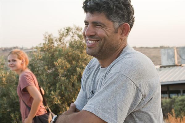 Daoud Nassar nella sua terra. (fotogallery di Miriam Mezzera)