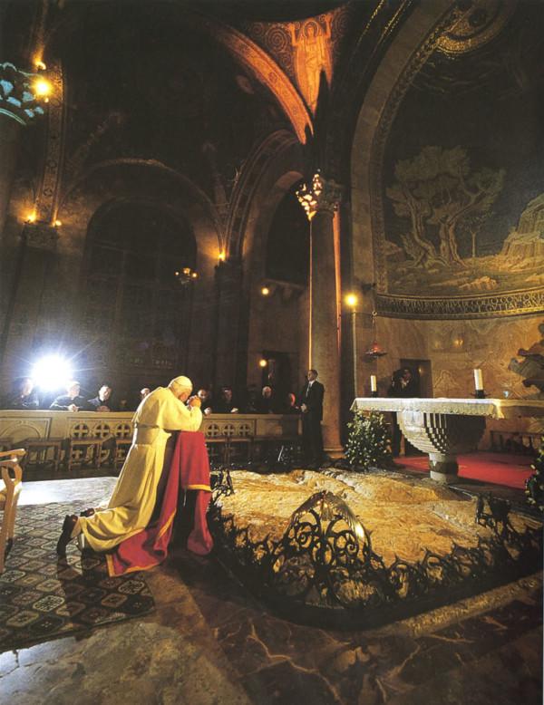 Con Giovanni Paolo II sulle strade della Terra Santa