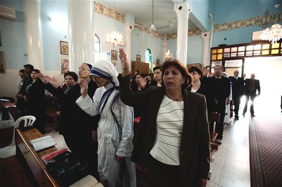 I cristiani di Gaza rischiano di non incontrare il Papa