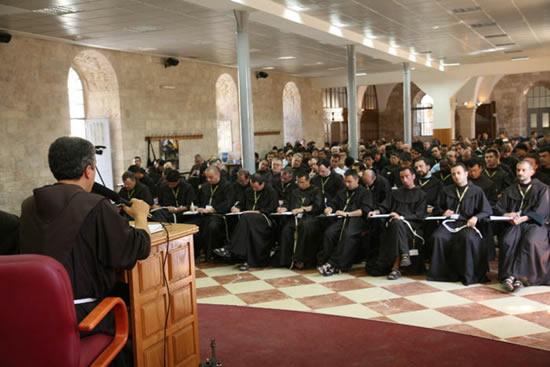 7 luglio. Ancora lavori assembleari presso il convento di San Salvatore a Gerusalemme.