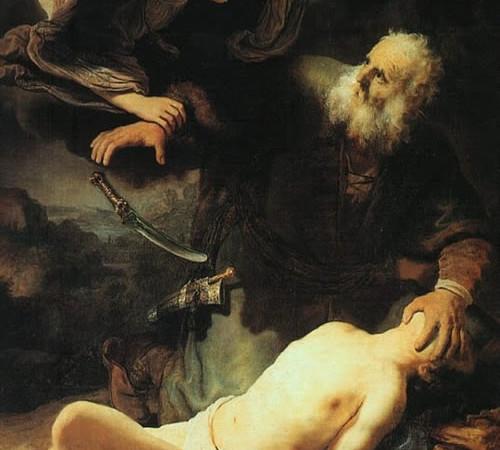 L'opera originale di Rembrandt, dipinta nel 1635.