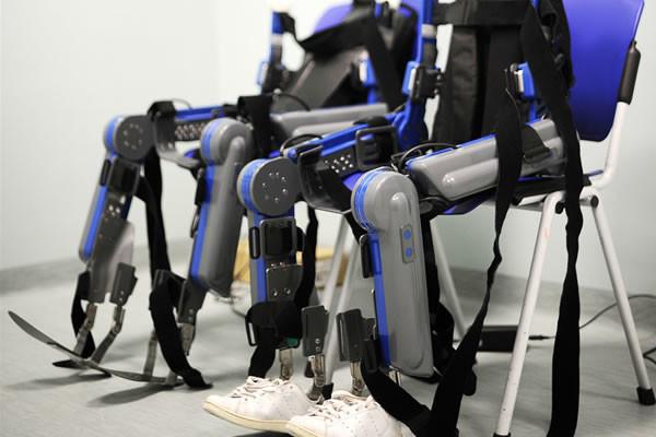 Il robot di concezione israeliana pronto per l'utilizzo.