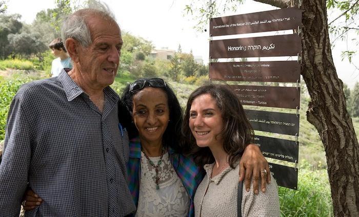 Una Giusta eritrea onorata nel giardino dell'Oasi di pace