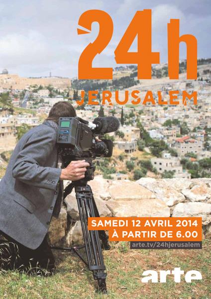 24 ore a Gerusalemme, sul canale <i>Arte</i>