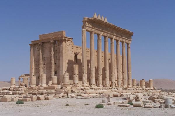 Il tempio di Baal.