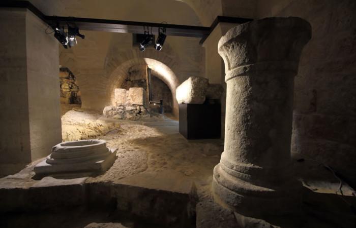 Scorcio del <i>Lapidarium</i>.