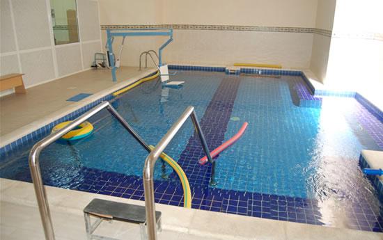 La piscina del Centro. (foto G. Caffulli)
