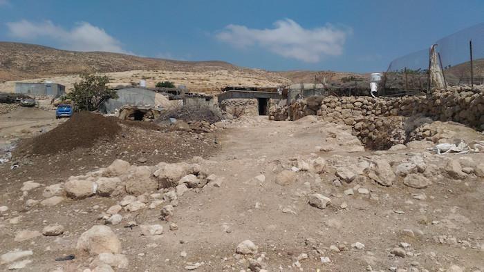 Questi villaggi palestinesi sorgono in un'area dichiarata zona militare dalle forze armate israeliane.