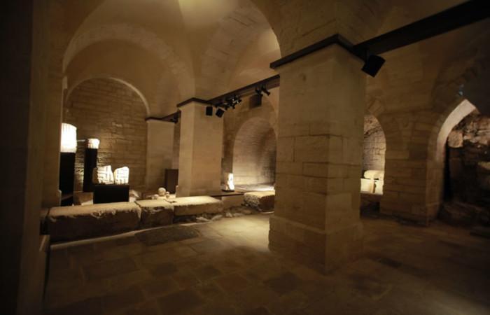 L'ambiente è stato completamente restaurato per ospitare la prima sezione del nuovo Museo.