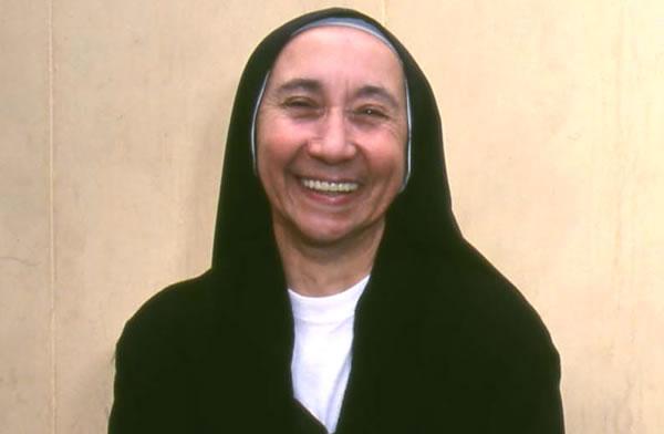 Suor M. Valeria Briccoli, la religiosa italiana defunta nell'incidente.