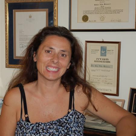 La giornalista Marina Rosati, ideatrice e curatrice dell'iniziativa.