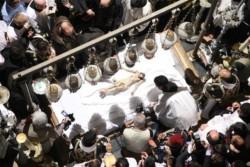 Il funerale di Gesù, antico rito