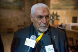 La testimonianza dell'arcivescovo siro-cattolico di Mosul in Terra Santa