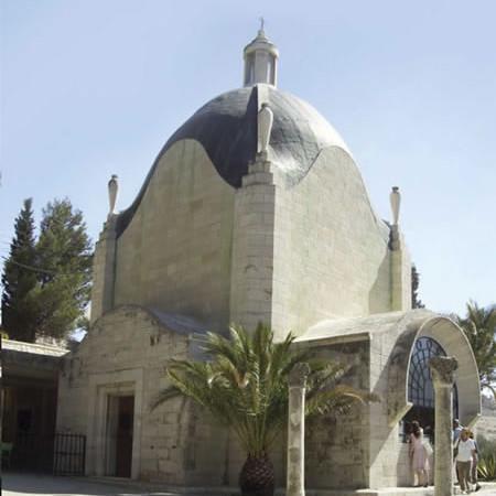 La chiesetta del Dominus Flevit, sul Monte degli Ulivi. (foto G. Franco Repellini)