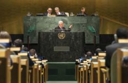 Il presidente palestinese all'Onu: «Siamo stanchi di aspettare!»