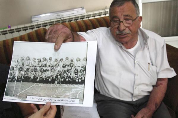 Abu Bishara, memoria storica dello scoutismo palestinese. (foto m.a.b/Cts)