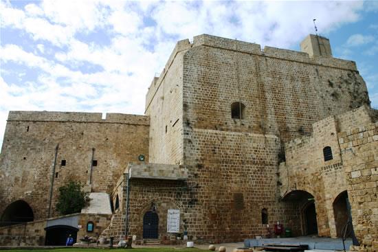 La cittadella crociata di San Giovanni d'Acri. (foto S. Lee)