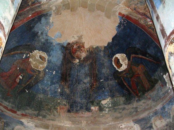 Monastero di Antiphonitis, nel paese di St. Ambrosios. Affreschi risalenti alla fine del XII secolo.