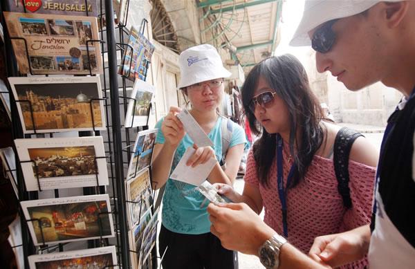 Israele 2012, turismo ancora in crescita