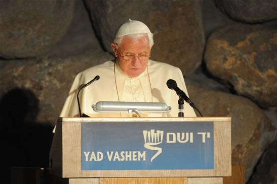 Ripensando Ratzinger allo<i> Yad Vashem</i>