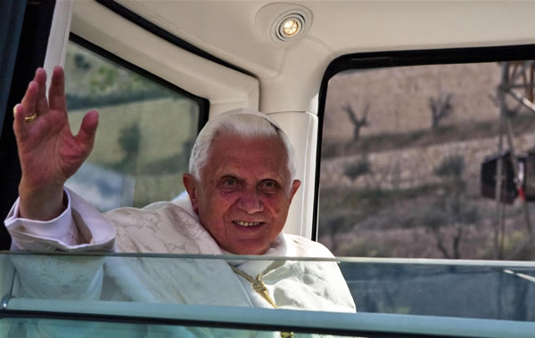Dalla Terra Santa: Benedetto XVI fine interprete del dialogo e uomo di pace