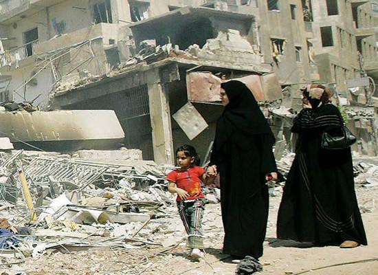Educazione civica in Libano: «Attenti alle bombe inesplose!»
