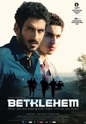 Nel film <i>Bethlehem</i> la zona grigia tra israeliani e palestinesi