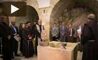 Video – Posata oggi a Gerusalemme la prima pietra del <i>Terra Sancta Museum</i>