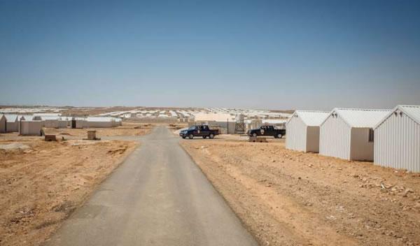 Ad Azraq, in Giordania, un nuovo campo profughi per 130 mila persone