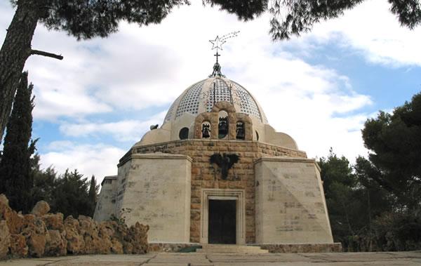 Il santuario del Campo dei pastori progettato dall'architetto Antonio Barluzzi. (foto J. Kraj) [1/2]