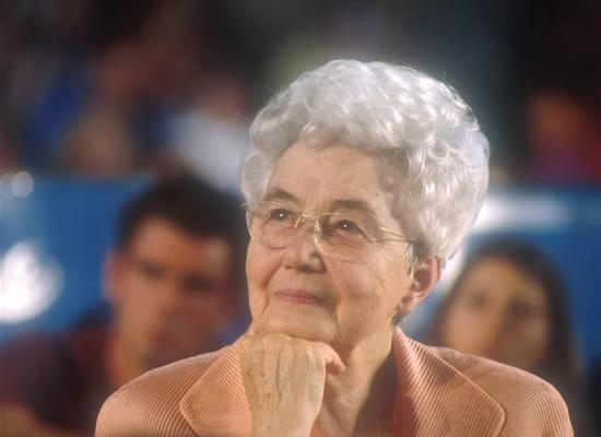 Chiara Lubich (1920-2008), fondatrice dell'Opera di Maria.