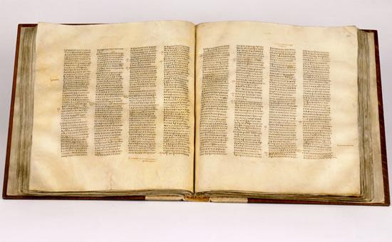 Libero accesso, virtuale, all'antico<i> Codex Sinaiticus</i>