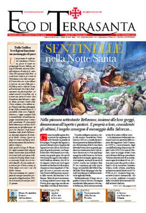 Terra Santa News – 10 dicembre 2010