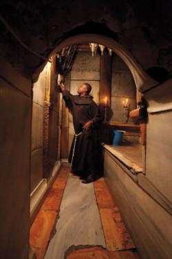 Vita quotidiana al Santo Sepolcro