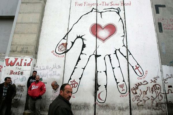 L'arte appesa al Muro