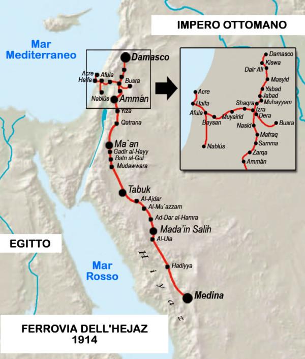 In Israele rivivrà la ferrovia ottomana