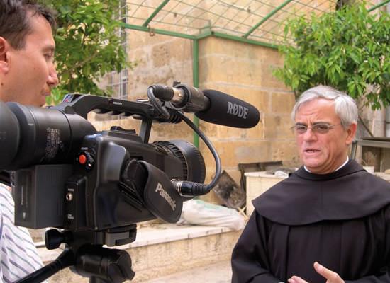 Pellegrinaggio Fisc. Intervista allo spagnolo fra Artemio Vitores, vicario custodiale.
