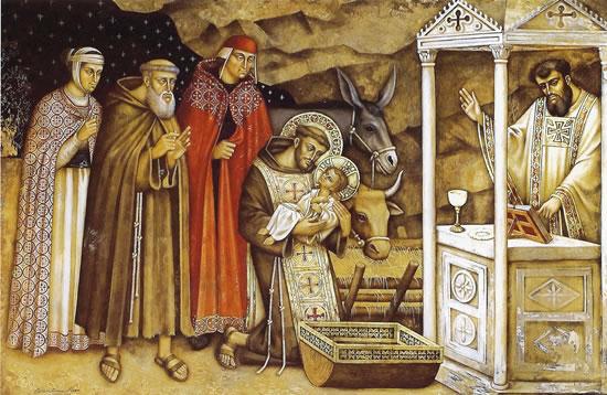 Far memoria del Bambino di Betlemme