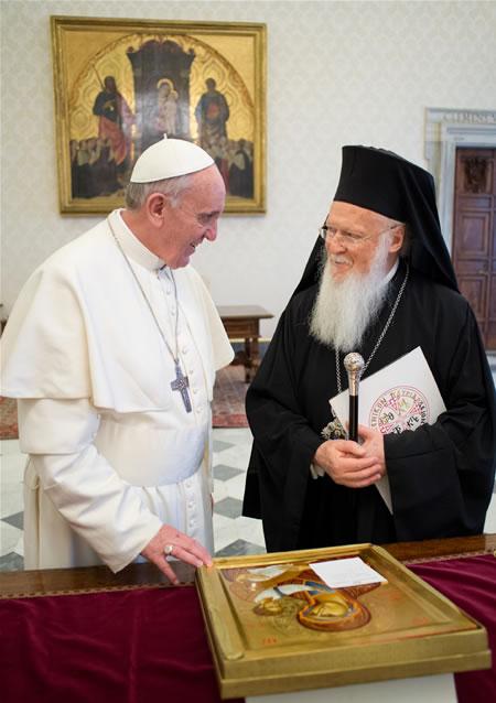 Bartolomeo I verso Gerusalemme: «Siamo chiamati ad amarci e a dialogare»