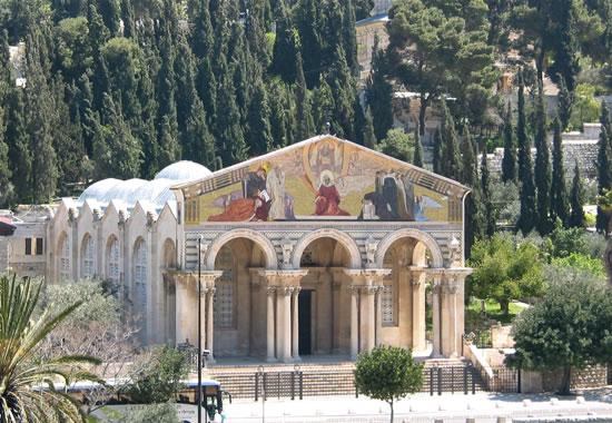 Getsemani, nell'orto dell'Agonia