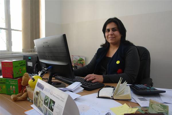 Hania Bsharat.