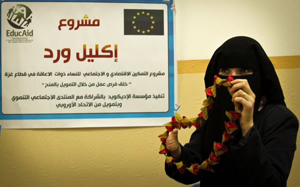 Una goccia di speranza per i disabili di Rafah, nella Striscia di Gaza