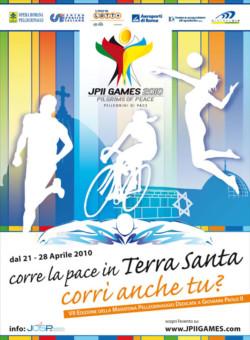 """La marcia Betlemme-Gerusalemme diventa """"JPII Games 2010"""""""