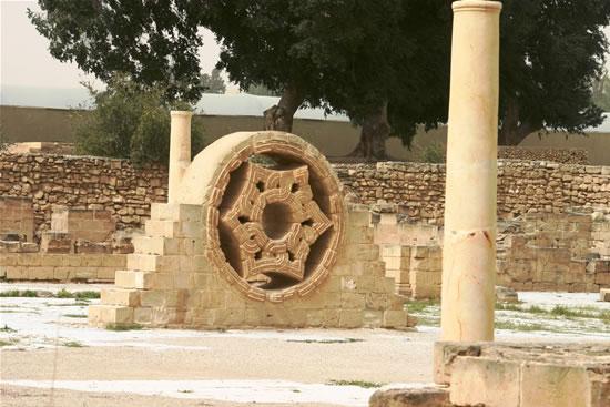 Il grande palazzo della Gerico islamica